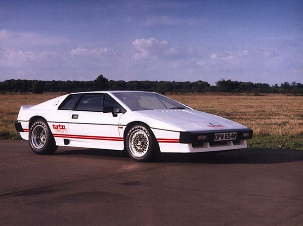 The Lotus Esprit Turbo was the last and best of the four-cylinder Esprits.