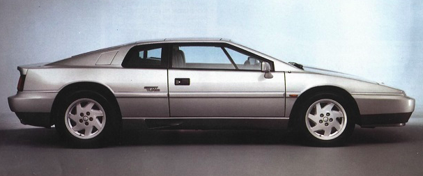 Lotus Esprit Turbo profile view